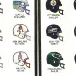 Sticker Album: 1984-85 Jeno's Pizza NFL Helmets