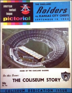 raiders coliseum 1966
