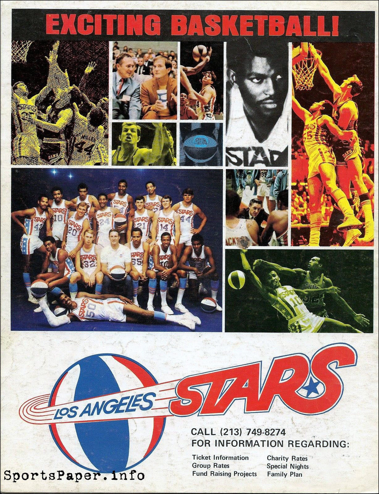 1969-70 Los Angeles Stars (ABA) advertisement