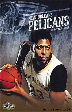 2016-17 New Orleans Pelicans Media Guide