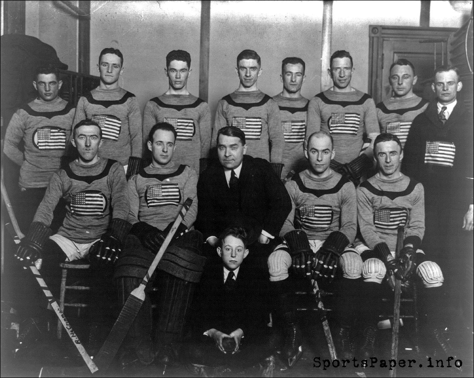 1920 U.S. Olympic Hockey Team