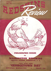 Washington Redskins vs. Philadelphia Eagles (December 7, 1941)