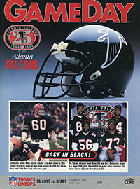 Chicago Bears vs. Atlanta Falcons (November 11, 1990)
