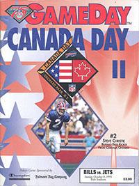 Buffalo Bills vs. New York Jets (October 8, 1995)