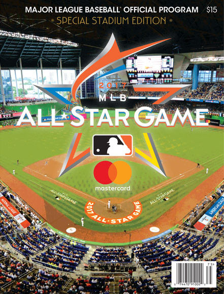 2017 MLB All-Star Game Program