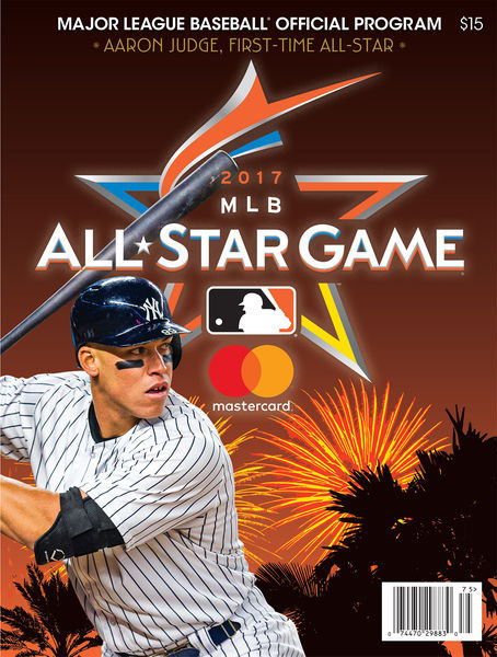 2017 MLB All-Star Game Program - Aaron Judge