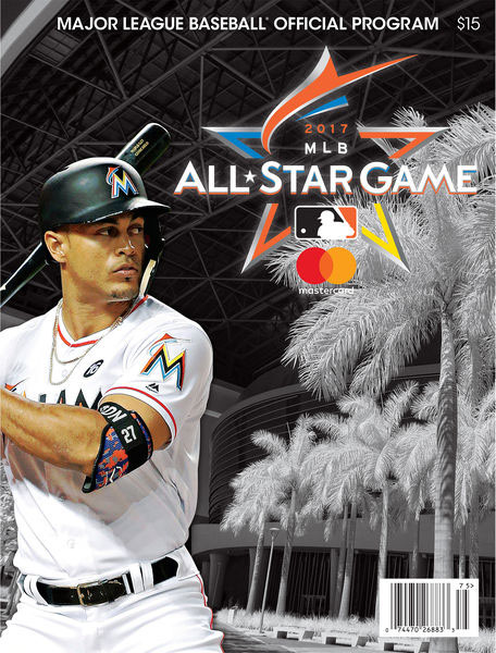 2017 MLB All-Star Game Program - Giancarlo Stanton