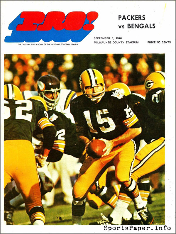 Green Bay Packers vs. Cincinnati Bengals (September 5, 1970)