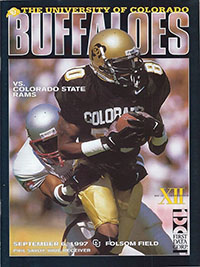 Colorado Buffaloes vs. Colorado State Rams (September 6, 1997)