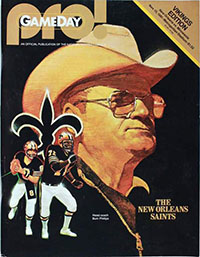 Minnesota Vikings vs. New Orleans Saints (November 15, 1981)