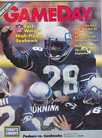 Green Bay Packers vs. Seattle Seahawks (October 21, 1984)