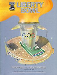 1983 Liberty Bowl (Notre Dame Fighting Irish vs. Boston College Eagles)