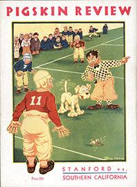 USC Trojans (#6) vs. Stanford Indians/Cardinal (#14) (November 7, 1931)
