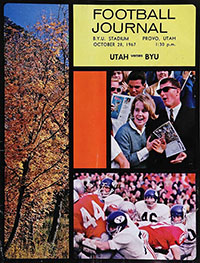 BYU Cougars vs. Utah Utes (October 28, 1967)