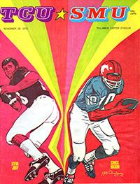 TCU Horned Frogs (#20) vs. SMU Mustangs (November 28, 1970)