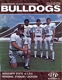 Mississippi State Bulldogs vs. LSU Tigers (#12) (November 13, 1971)
