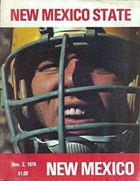 New Mexico Lobos vs. New Mexico State Aggies (Novenber 2, 1974)