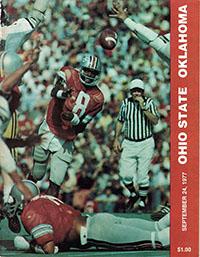 Ohio State Buckeyes (#2) vs. Oklahoma Sooners (#5) (September 24, 1977)