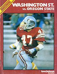 Washington State Cougars (#21) vs. Oregon State Beavers (November 8, 1980)