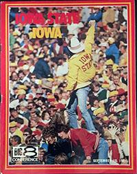 Iowa State Cyclones vs. Iowa Hawkeyes (September 19, 1981)