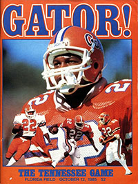 Florida Gators (#24) vs. Tennessee Volunteers (#23) (October 12, 1985)