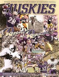 Washington Huskies (#6) vs. Fresno State Bulldogs (September 16, 2006)