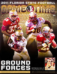Florida State Seminoles (#10) vs. Louisiana–Monroe Warhawks (September 3, 2011)