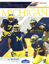 Michigan Wolverines (#7) vs. Air Force Falcons (September 8, 2012)