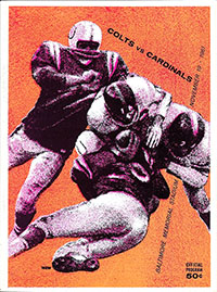 Baltimore Colts vs. St. Louis Cardinals (November 19, 1961)