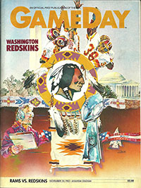 Los Angeles Rams vs. Washington Redskins (November 20, 1983)