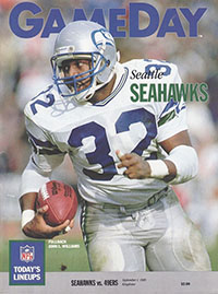 Seattle Seahawks vs. San Francisco 49ers (September 1, 1989)