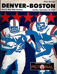 Denver Broncos vs. Boston Patriots (September 14, 1969)