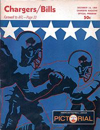 San Diego Chargers vs. Buffalo Bills (December 14, 1969)