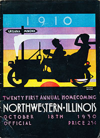 Illinois Fighting Illini vs. Northwestern Wildcats (#23) (October 18, 1930)