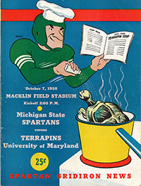 Michigan State Spartans (#22) vs. Maryland Terrapins (October 7, 1950)