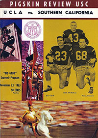USC Trojans (#12) vs. UCLA Bruins (November 23, 1963)
