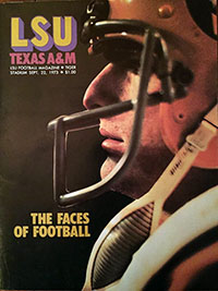 LSU Tigers (#19) vs. Texas A&M Aggies (September 22, 1973)