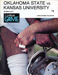 Oklahoma State Cowboys (#18) vs. Kansas Jayhawks (October 9, 1976)