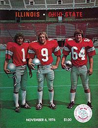Ohio State Buckeyes (#8) vs. Illinois Fighting Illini (November 6, 1976)