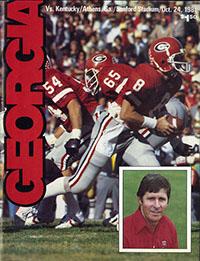 Georgia Bulldogs (#7) vs. Kentucky Wildcats (October 24, 1981)
