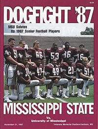Mississippi State Bulldogs (#16) vs. Ole Miss Rebels (November 21, 1987)