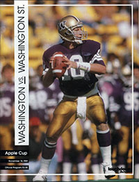 Washington Huskies (#15) vs. Washington State Cougars (#14) (November 18, 1989)