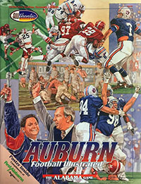 Alabama Crimson Tide (#1) vs. Auburn Tigers (#6) (November 18, 1995)