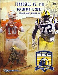 Tennessee Volunteers vs. LSU Tigers (#21) (December 1, 2007)