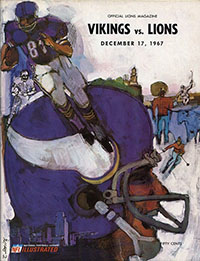 Detroit Lions vs. Minnesota Vikings (December 17, 1967)