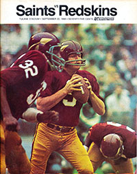 New Orleans Saints vs. Washington Redskins (September 22, 1968)