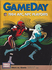 San Francisco 49ers vs. New York Giants (December 29, 1984)
