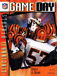 Cincinnati Bengals vs. Cleveland Browns (October 29, 1995)