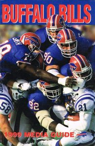 1999 Buffalo Bills Media Guide